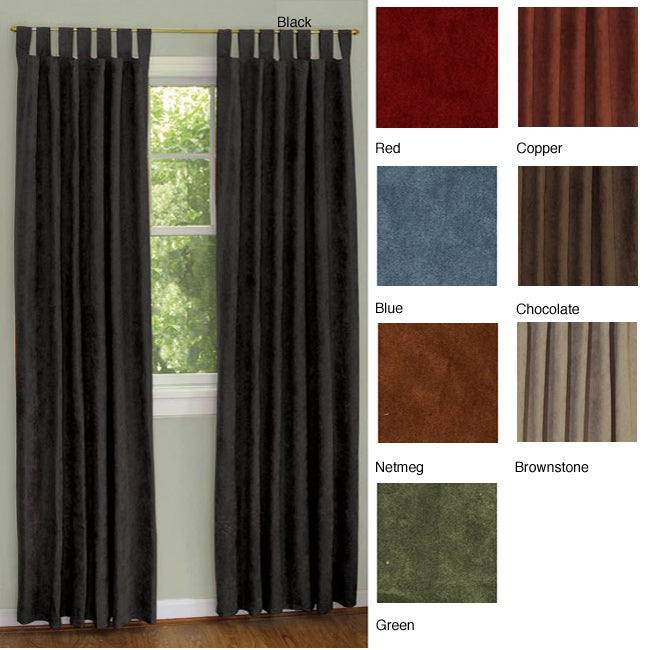 18 back tab blackout curtains red and brown window curtains