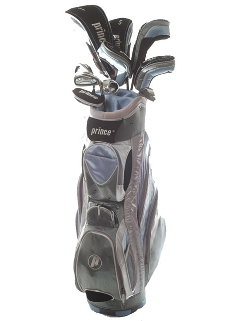 Taylormade R1 Driver >> Prince GX2 17-piece Ladies Complete Golf Club Set ...