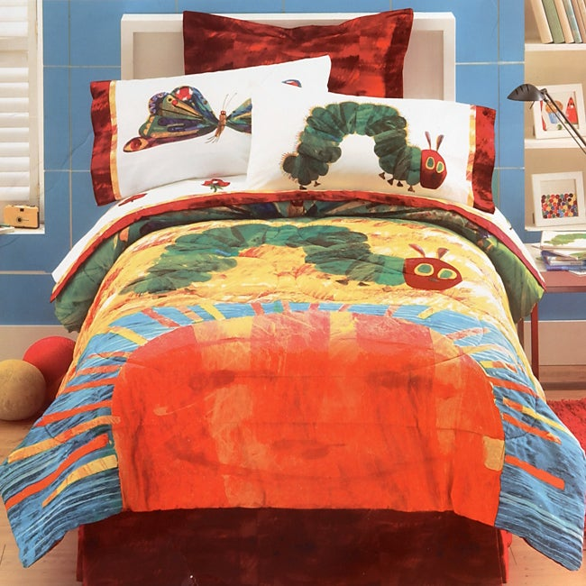 Eric Carle Hungry Caterpillar Comforter Set