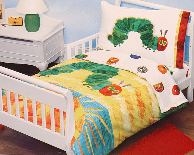 Eric Carle Hungry Caterpillar Toddler Comforter Set