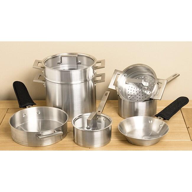Denmark 10-piece Stainless Steel Cookware Set
