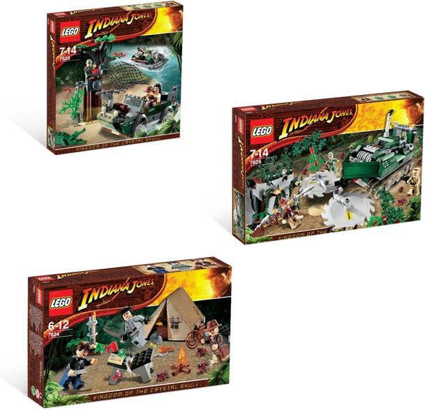 Lego Indiana Jones Complete Set (7624,7625,7626)