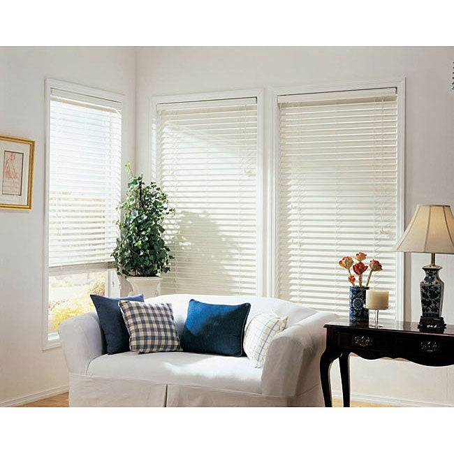 Faux Wood 2-inch Window Blind (46 in. x 64 in.)
