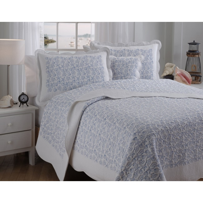 Seascape Full Or Queen Size Quilt Set Free Shipping
