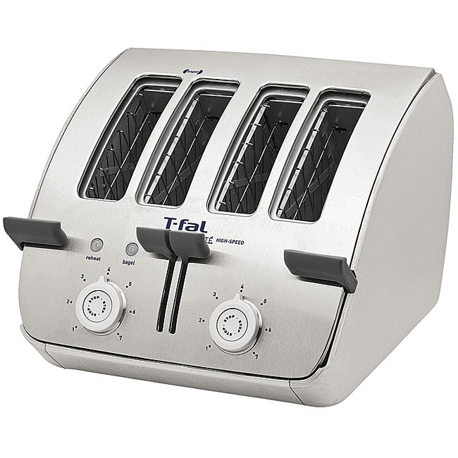 Shop T Fal 4 Slice Stainless Steel Avante Deluxe Toaster