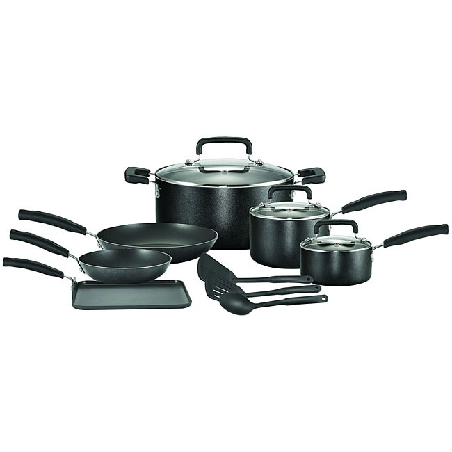T-Fal Signature 12-piece Nonstick Cookware Set (10pc Sign...