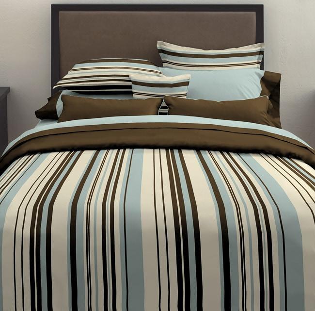 Plaza Stripe 3-piece Comforter Set