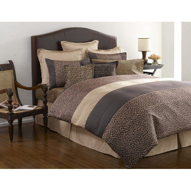 Nicole Miller Serengeti Duvet Set Free Shipping Today