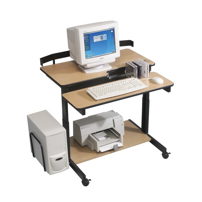 Balt Compact Height Adjustable Workstation Free Shipping
