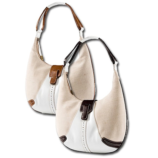 Stone Mountian Morgan Linen Hobo Bag