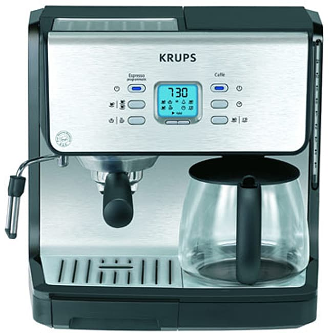 Krups Coffee Maker Grinder Problems : Krups XP 2070 Programmable Espresso Machine - Free Shipping Today - Overstock.com - 11341883
