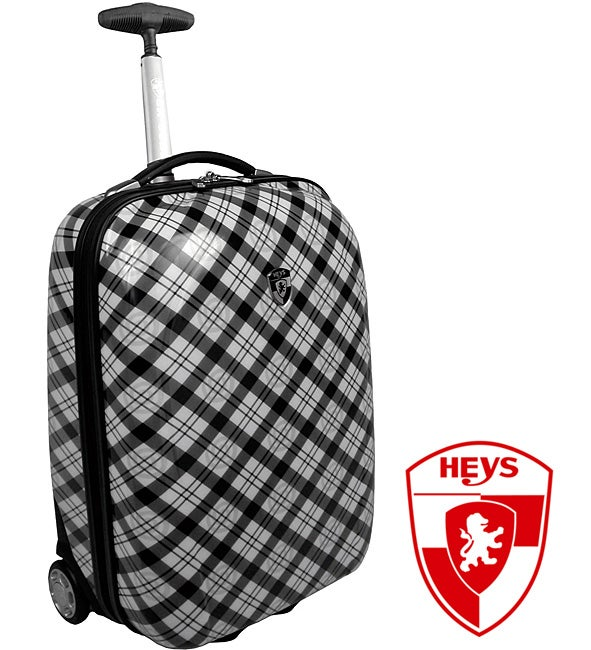 Heys XCase Exotic Plaid Polycarbonate 20-inch Carry-on