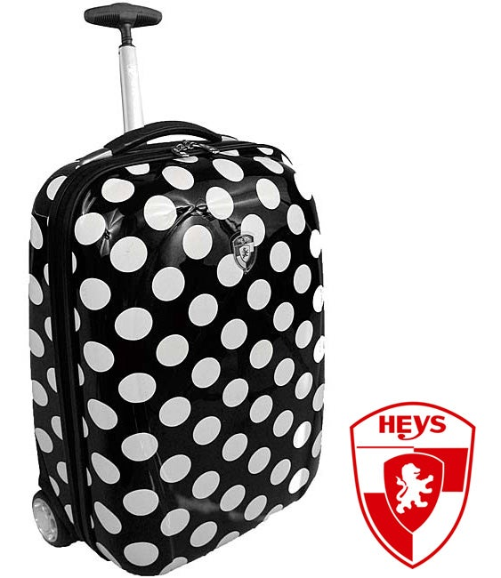 Heys XCase Exotic Polka Dot Polycarbonate 20-inch Carry-on