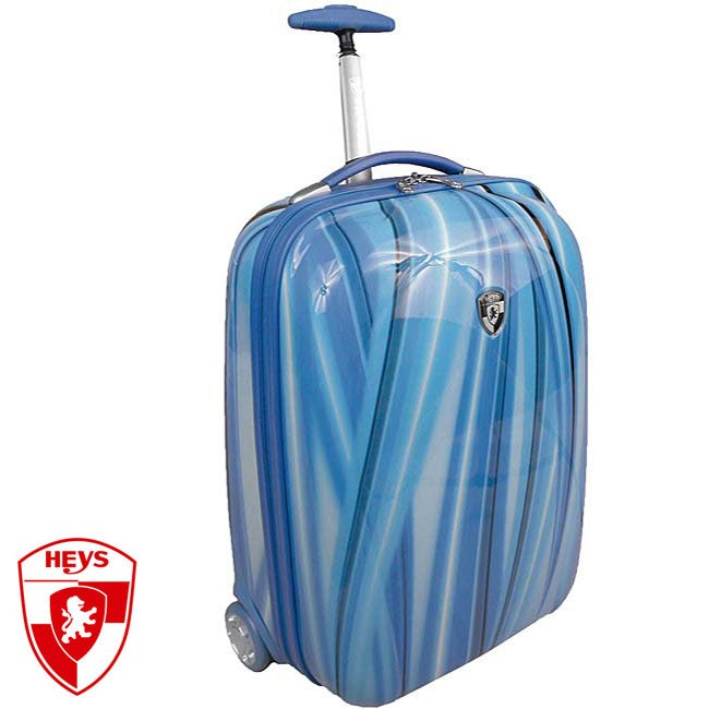 Heys XCase Exotic 20-inch Blue Flow Carry-on Luggage