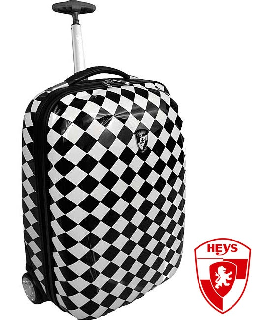 Heys XCase Exotic Checkers Polycarbonate 20-inch Carry-on