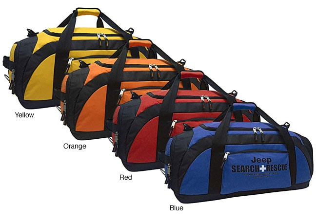 Shop Jeep Search and Rescue 22-inch Travel Duffel Bag - Free ... 6872a45b911bf