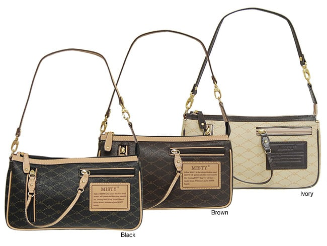 35ac7a8d8c95 Shop Misty Collection Signature Handbag - Free Shipping Today - Overstock -  3231561