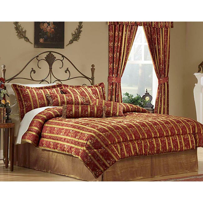 Larissa Ruby Luxury 8-piece Comforter Set - Thumbnail 0