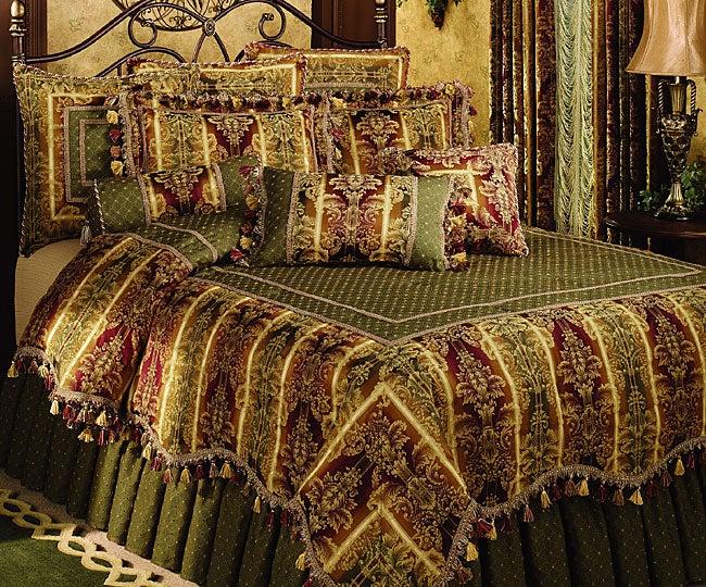 Royal Manor Wine Luxury 4-piece Comforter Set