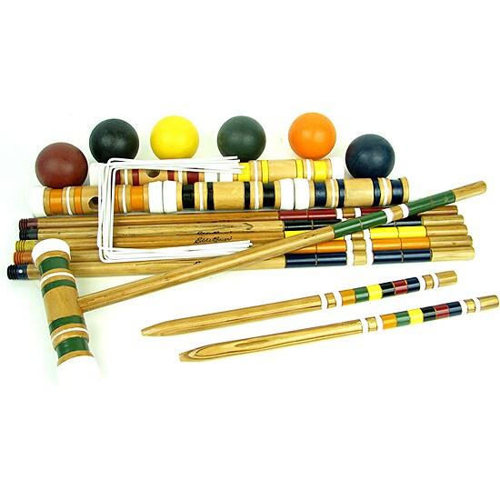 Eddie Bauer Competition Professional Croquet Set