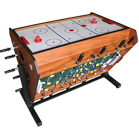 3 in 1 Air Hockey Foosball and Stick Hockey Table Free  : L11346407 from www.overstock.com size 550 x 550 jpeg 55kB