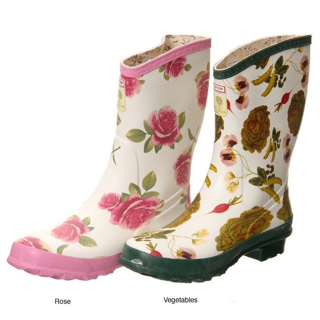 Hunter Womens Short Garden Boots Free Shipping Today
