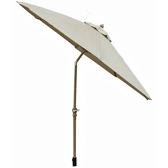 Premium Aluminum Woven Canopy 9-foot Umbrella