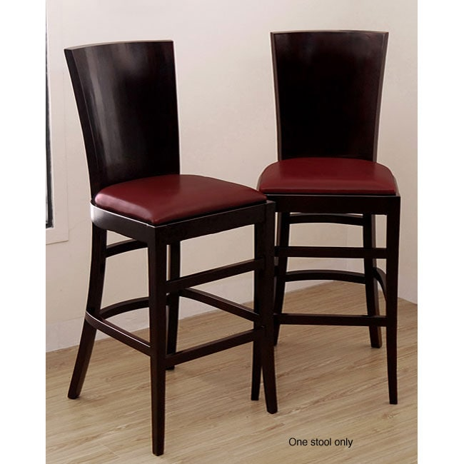 Casablanca Burnt Red Bar Stool Free Shipping Today