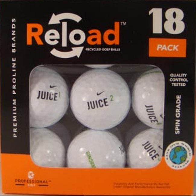 Nike Juice Recycled Golf Balls (Pack of 54)