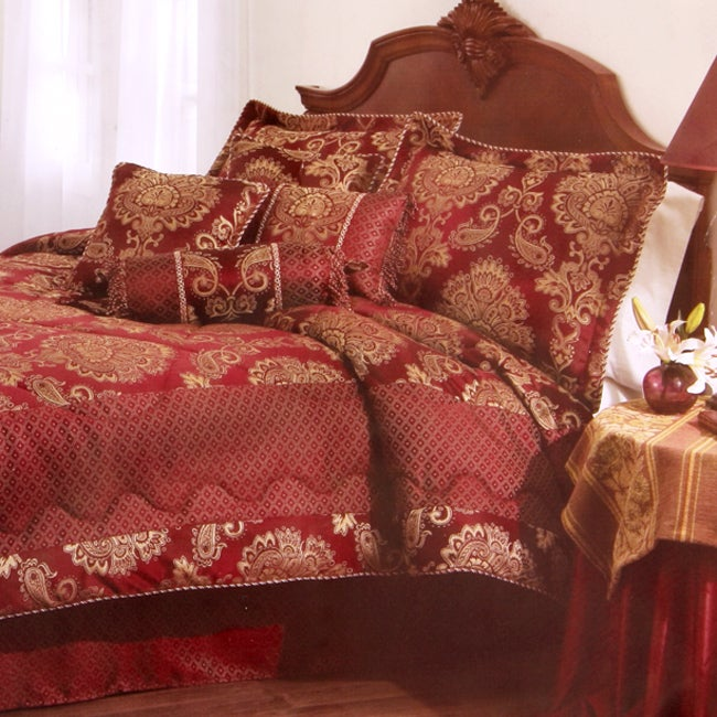 Crystal Court 8-piece Comforter Set