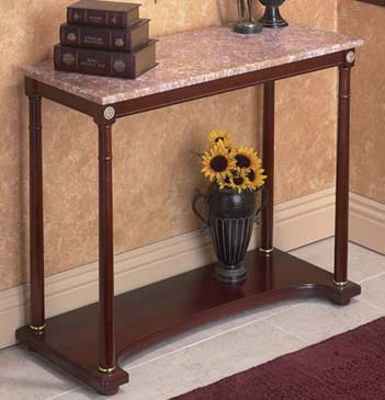 Marble Top Entry Table (India)