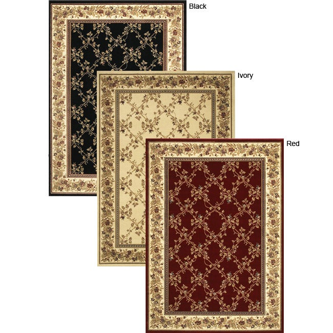 Virginia Trellis Area Rug (5'5 x 7'7) - Thumbnail 0