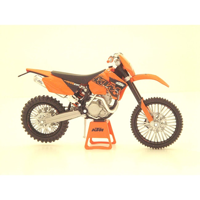 KTM 450 EXC Enduro Racing Diecast Dirt Bike