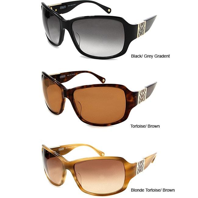 66b283b3124b order shop coach womens nina plastic sunglasses free shipping today  overstock 3254557 f9ddd fe782