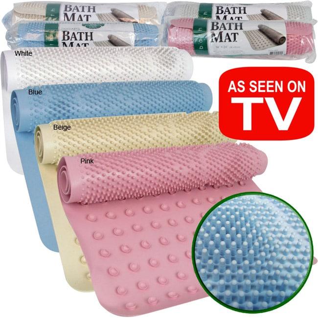 As Seen on TV Massaging Bathmat (Set of 2)