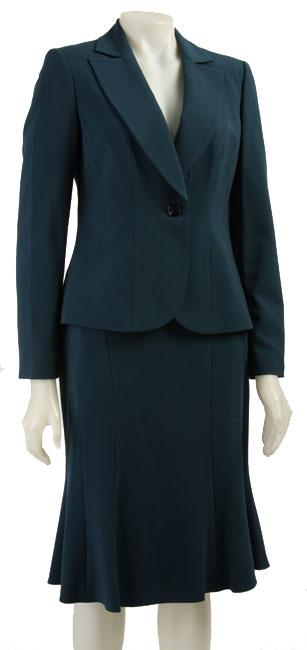 Jones New York Women's 2-piece A-line Skirt Suit - Free Shipping ...