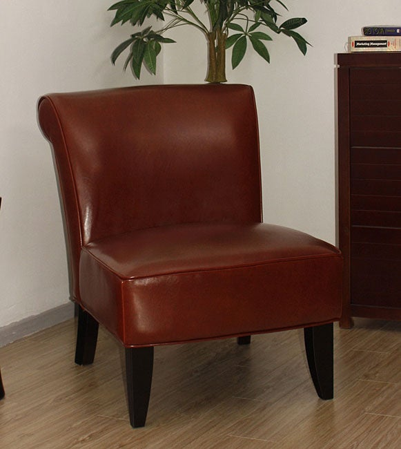 Shop Garland Cognac Leather Chair Free Shipping Today