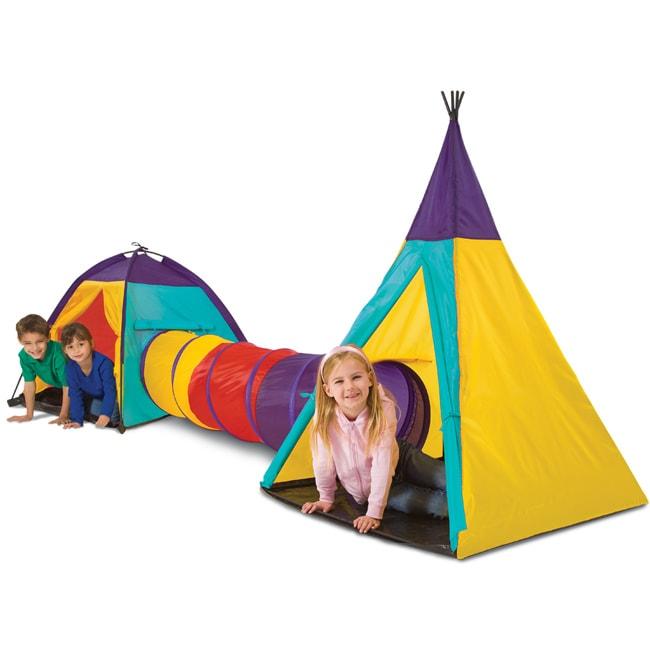 Blue Hat Big Adventures 3-piece Play Tent
