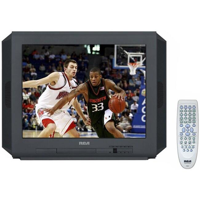 RCA 20F514TD 20-Inch Tru Flat TV/ DVD Player (Refurbished