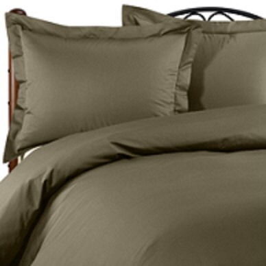 King 600 Thread Count Moss Duvet Cover