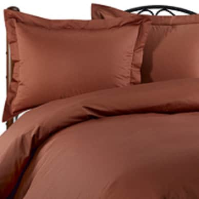Shop Terracotta 620 Thread Count King Size Duvet Cover Free