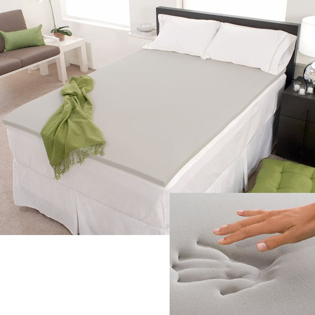 Firm Choice 3-inch Memory Foam Mattress Topper