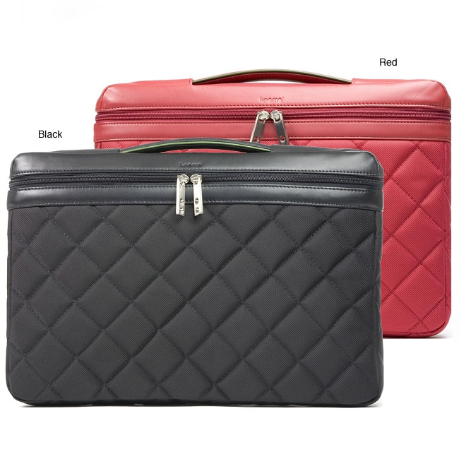 Knomo Slim 15 Inch Quilted Laptop Sleeve Free Shipping