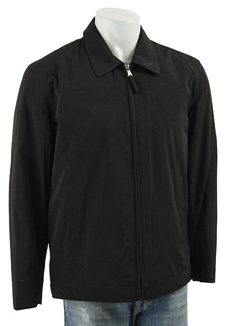 7f8c019726 Shop Perry Ellis Portfolio Men s Black Polytech Jacket - Free Shipping  Today - Overstock - 3278698