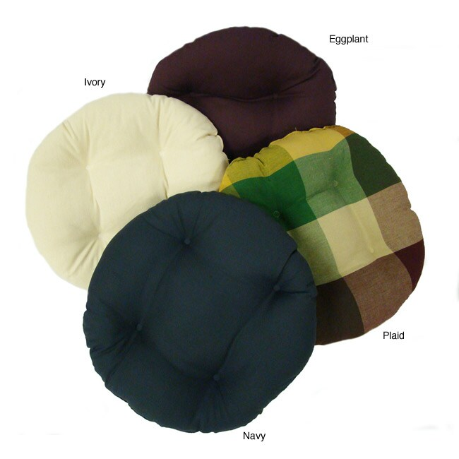 Round 16 inch Chair Pad Set of 2 Free Shipping