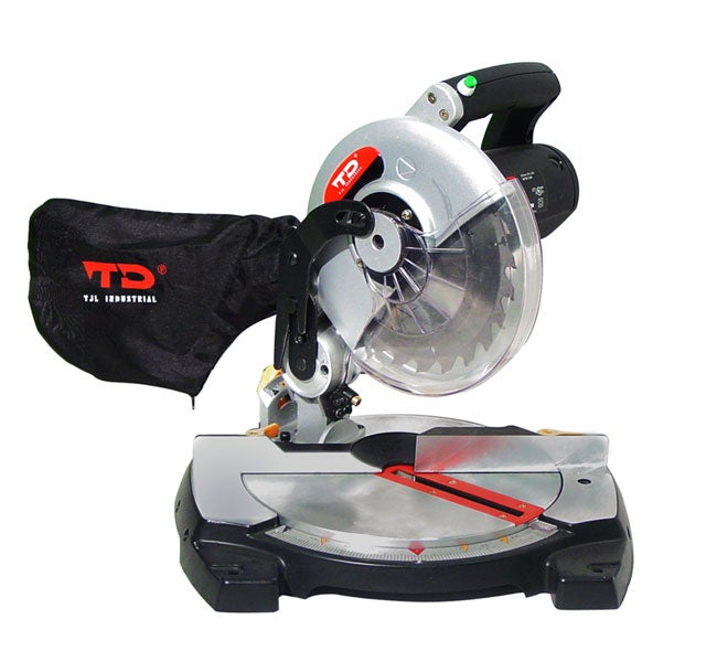 TD Industrial 8-inch Miter Saw with Laser Cutting Guide (CUL)