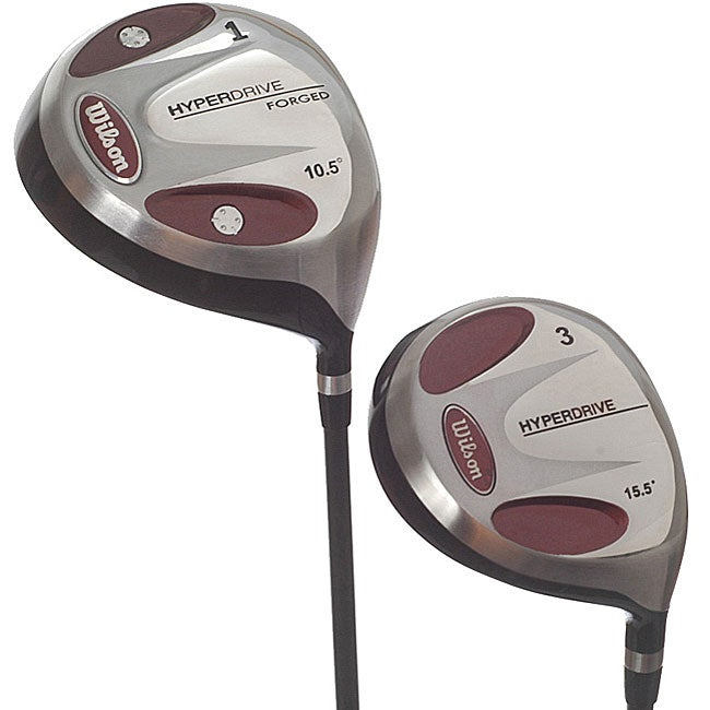 Shop Wilson Hyper Drive Driver And 3 Wood Combo Pack