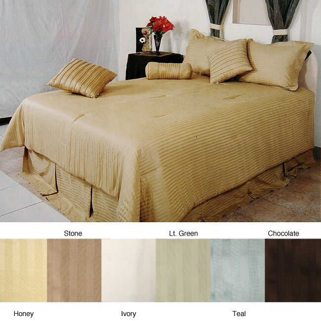 Regency Luxurious Linens 7-piece Comforter Set