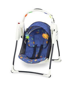 Graco Travel Lite Swing Jungle Pals Free Shipping