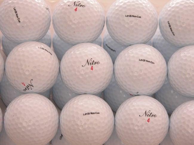 Nitro LD+20 Too Long Bulk 36-pack of Golf Balls